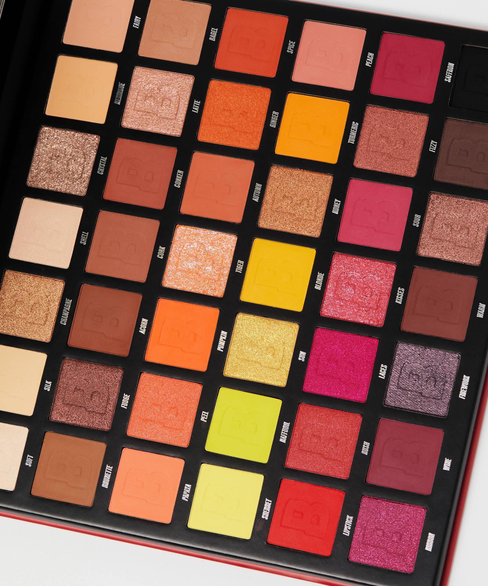 Beauty Bay Fiery 2.0 42 Colour Palette