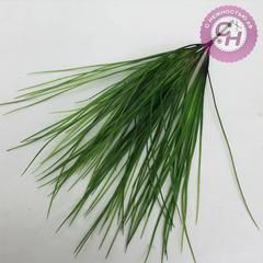 Трава осока горная, высокая, силиконовая, 5 веток, 53 см.