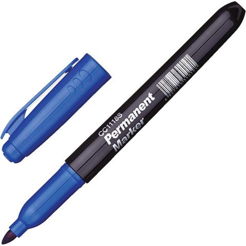 Маркер перманентный синий (толщина линии 2 мм)
