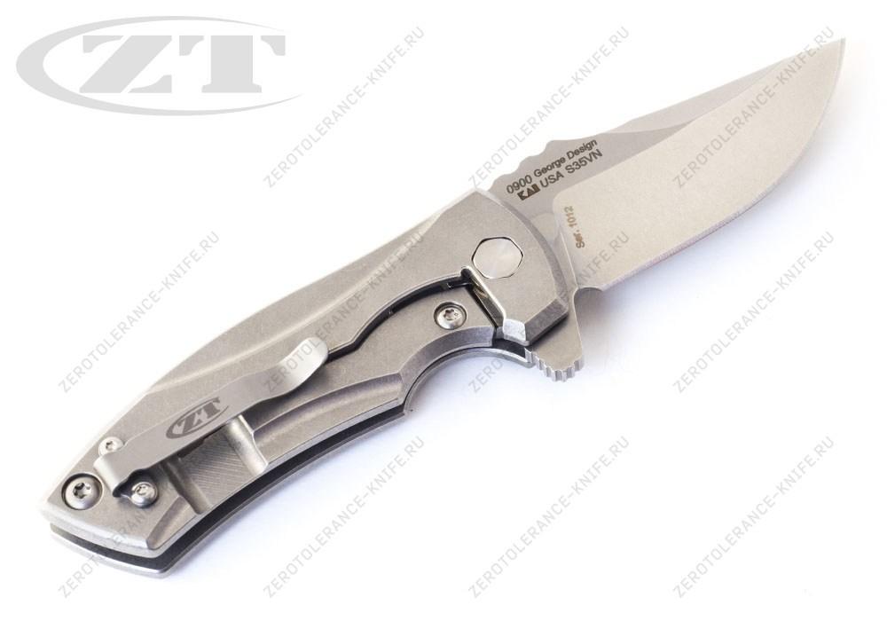 Нож Zero Tolerance 0900 Les George - фотография