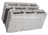 Блок керамзитовый восьми щелевой