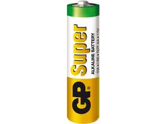 Батарейка GP Super Alkaline тип AA LR6 пальчиковая GP15A-2CR4 1.5V блистер 1 шт