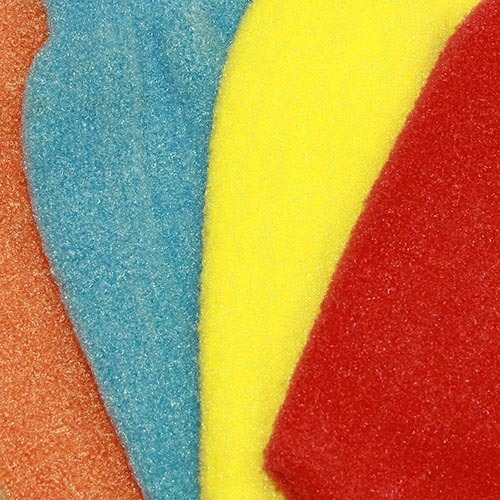 Рукавица массажная - цвета