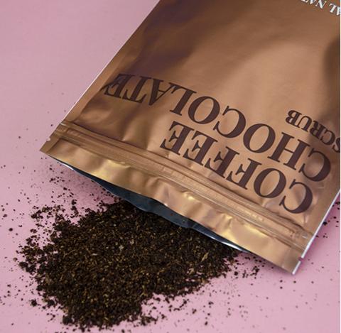 Натуральный кофейный скраб для тела «Кофе и Шоколад»
