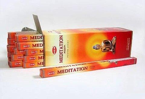 Благовония HEM Meditation Медитация (8 шт)