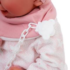 Munecas Antonio Juan Кукла Пола в розовом, 40 см (3304)