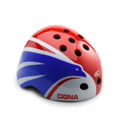 Шлем велосипедный детский Cigna WT-025 (белый/красный/синий)