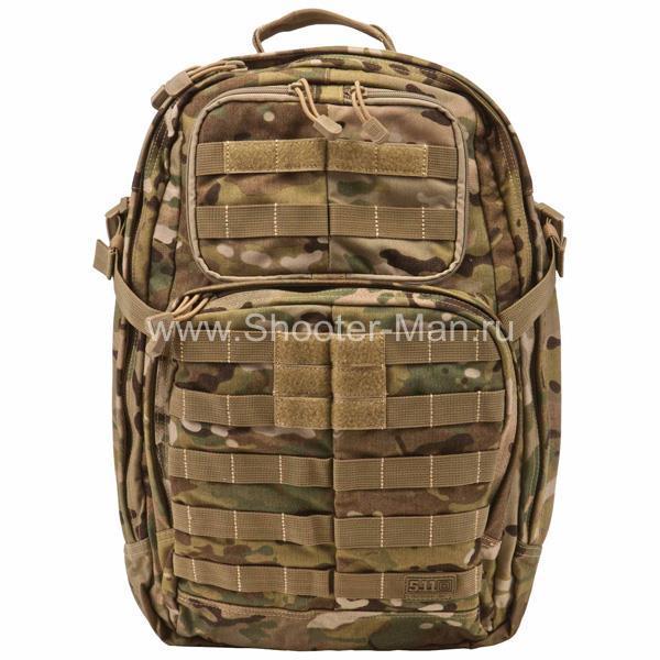 Тактический рюкзак 5.11 RUSH 24 BACKPACK, цвет MULTICAM фото