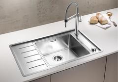 Мойка кухонная Blanco Andano XL 6 S-IF Compact нерж.сталь с зеркальной полировкой (чаша справа)