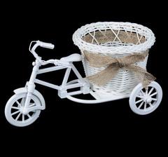 Велосипед плетеный