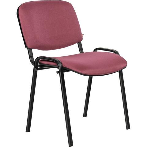 Стул офисный Easy Chair Rio Изо бордовый (ткань/металл черный)