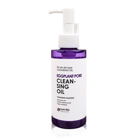 Гидрофильное масло Eggplant pore cleansing oil 150мл
