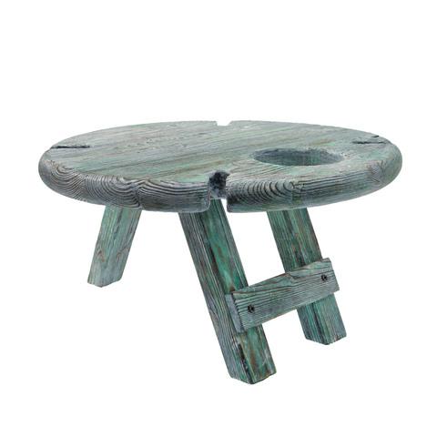 Складной столик для вина из дерева
