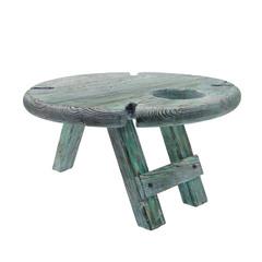 Складной столик для вина из дерева, фото 1