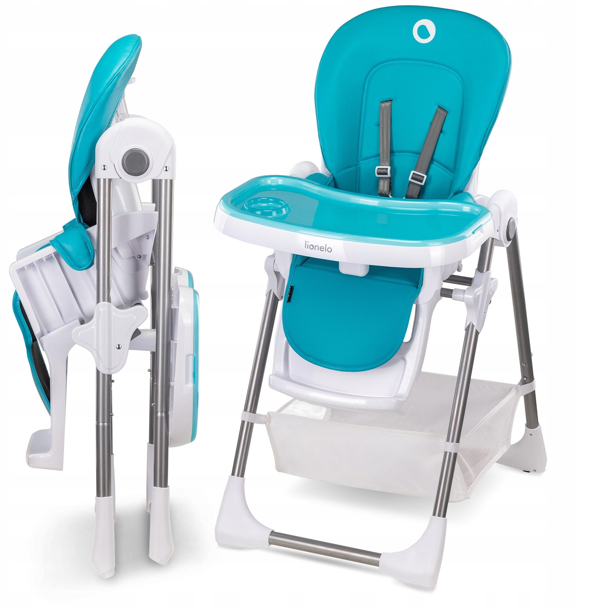 Стульчик для кормления Lionelo LO-LINN PLUS Turquoise