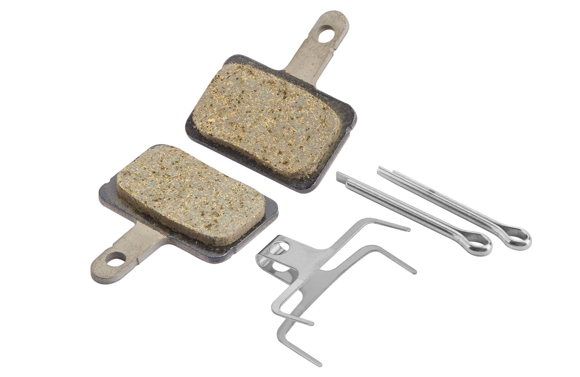 Томрозные колодки для дисковых тормозов B01S, пластиковые c шплинтом для BRT615