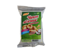 Чипсы яблочные, Вастэко, с мёдом и кокосовой стружкой, 25 г