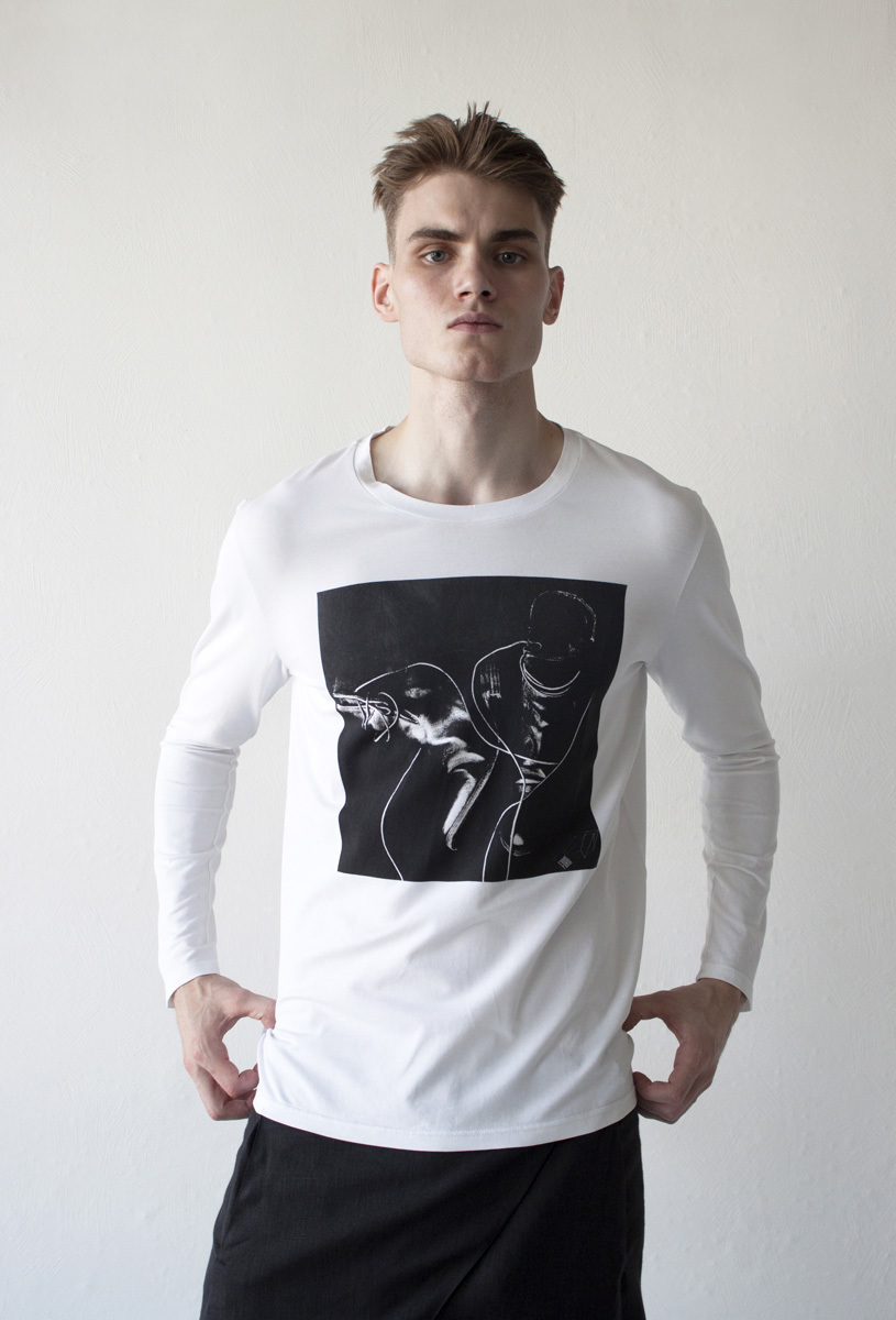 Мужская футболка «Сапоги»