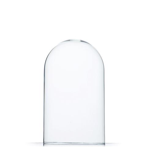 Стеклянная колба (Колпак, клош, купол, ваза, цилиндр) 25*15 см . 2 категория