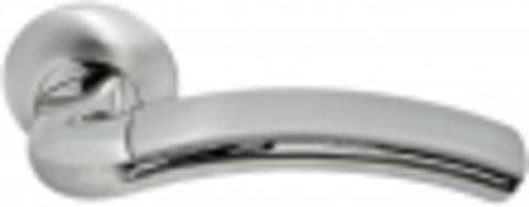 Ручка дверная MH-02 SN/CP