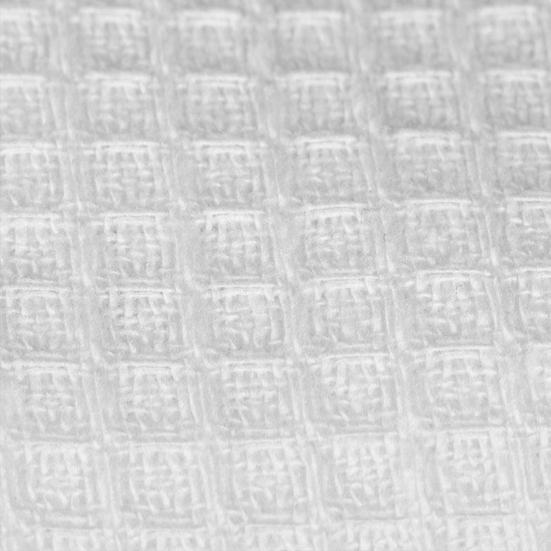 белая вафельная ткань