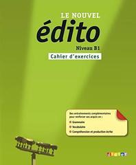 Le nouvel Edito B1 Cahier