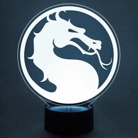 Светильник Mortal Kombat - Мортал Комбат