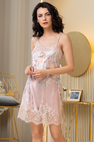 Сорочка женская шелковая  Mia-Amore MILINDA МИЛИНДА 3720