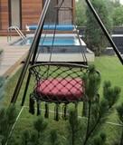Подвесное кресло Aruba с металлическим каркасом Майя