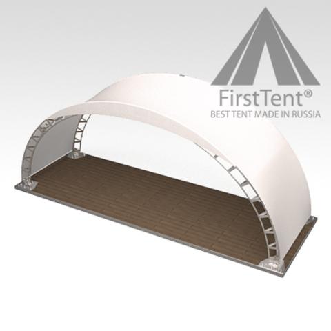 Арочный шатер 10х3