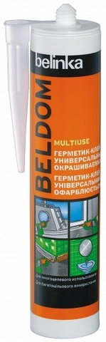 Belinka Beldom Multiuse Универсальный окрашиваемый герметик