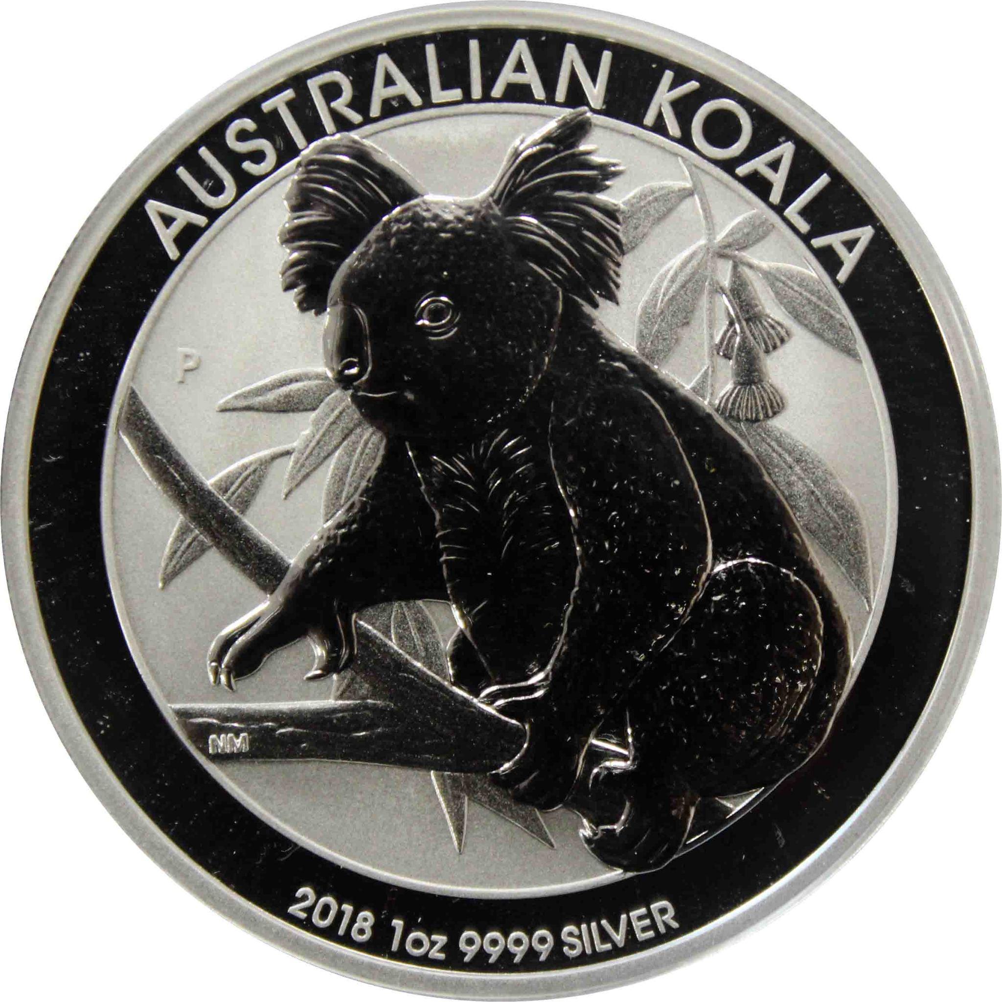1 доллар. Коала. Австралия. 2018 год