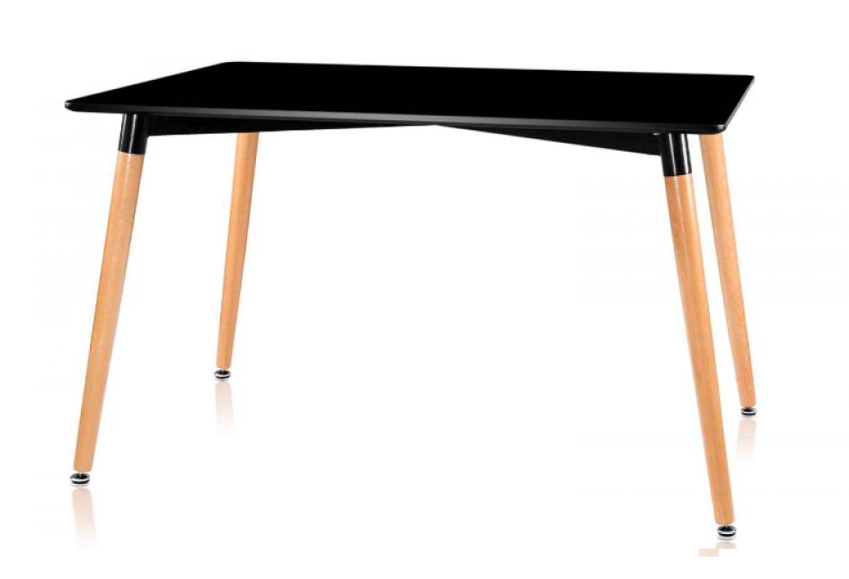 Стол обеденный LINK (120) BLACK (черный)