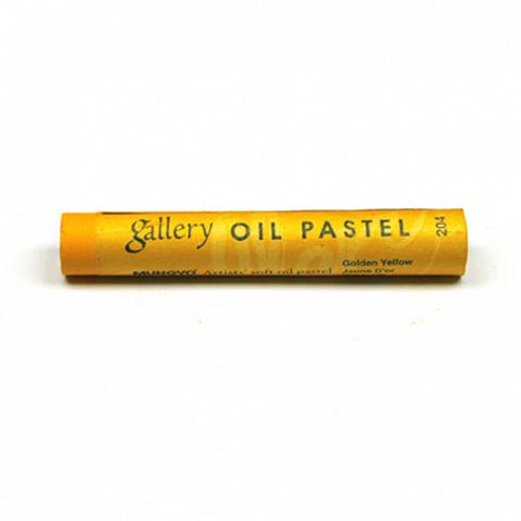 Пастель масляная Mungyo, профессиональная, цвет № 204 Золотисто-жёлтый