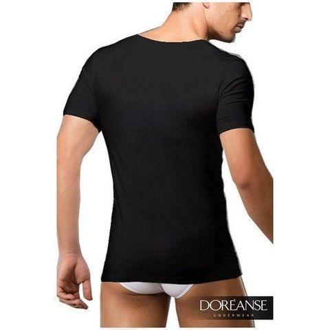 Мужская футболка черная Doreanse 2520 Black