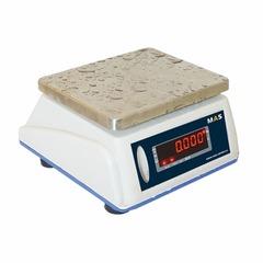 Весы фасовочные/порционные настольные MAS MASter MSWE-30D, IP66, 30кг, 10гр, 210х175, влагостойкие, с поверкой