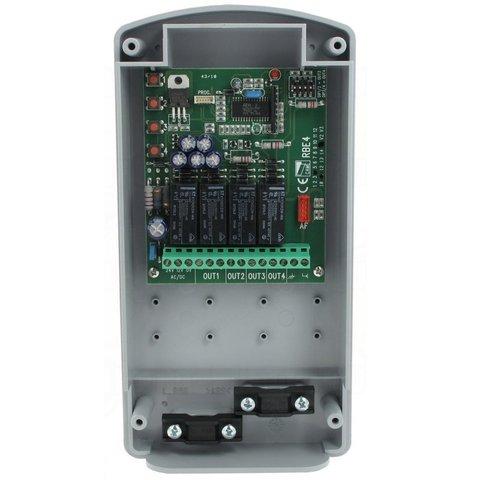 RBE4024 - Радиодекодер внешний двухчастотный 4-х канальный (12-24 В AC-DC), IP54, 3000 передатчиков Came