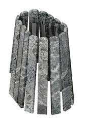 Комплект облицовки Stone for 350 Vega Window Max (Серпентинит)