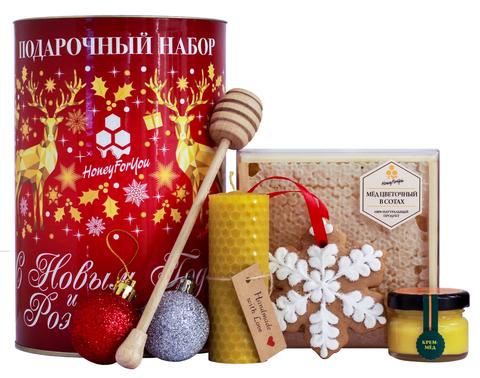 Подарочный новогодний набор HoneyForYou