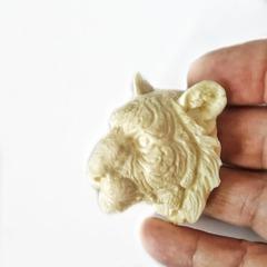 1030 Молд силиконовый Тигр (голова тигра).