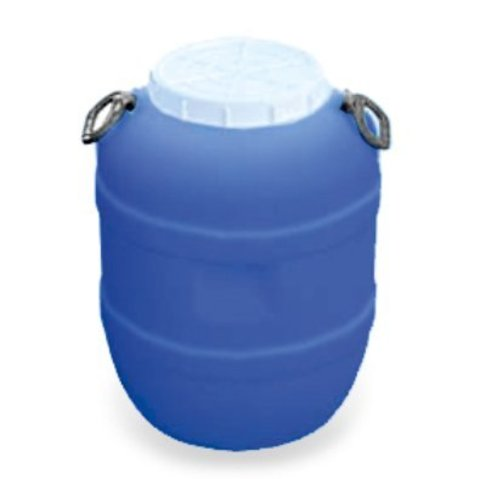 Бидон АГР пластиковый круглый для пищевых продуктов синий