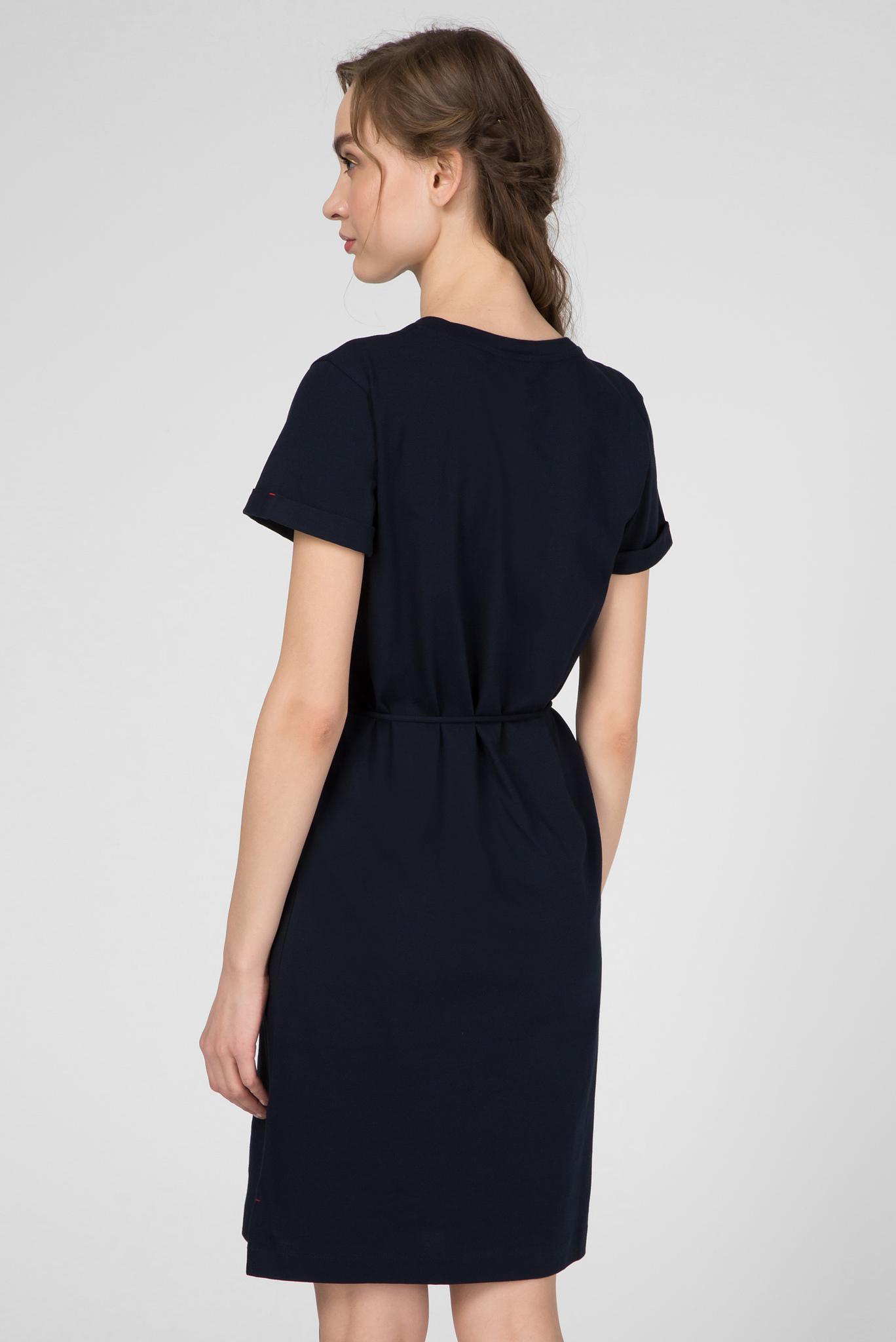 Женское темно-синее платье ANGELA REGULAR C-NK Tommy Hilfiger