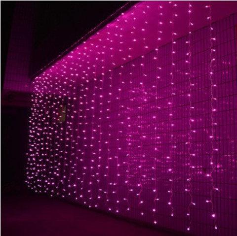 LED Гирлянды шторы занавес 3 на 3 метра