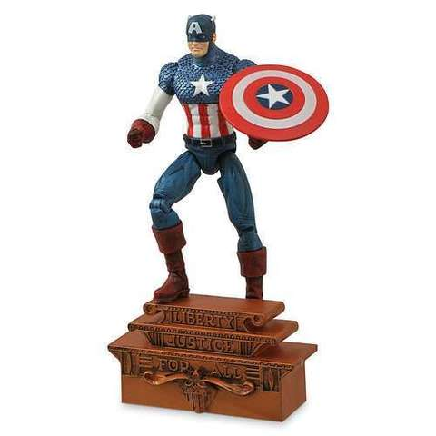 Марвел Селект фигурка Капитан Америка классик — Marvel Select Classic Captain America