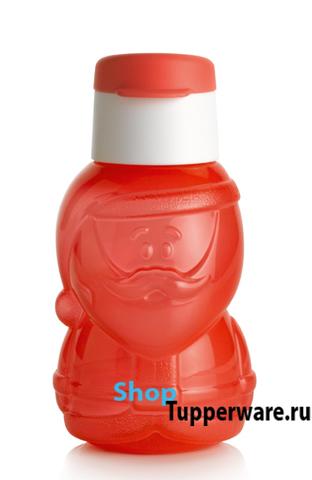 Бутылка эко Дед мороз рис.2