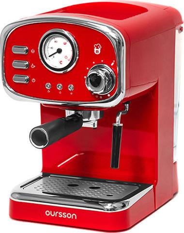 Кофеварка рожковая Oursson EM1505/RD