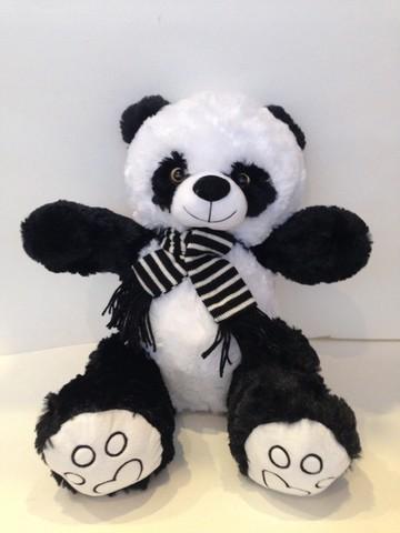 Панда с шарфом, 40 см., 20485-40