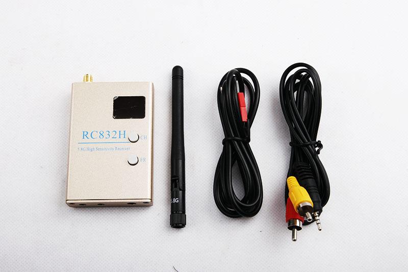 Комплектация видеоприёмника RC832H
