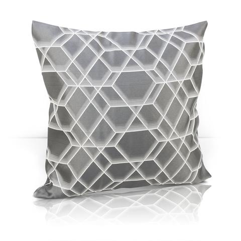 Подушка Алмаз темно-серый