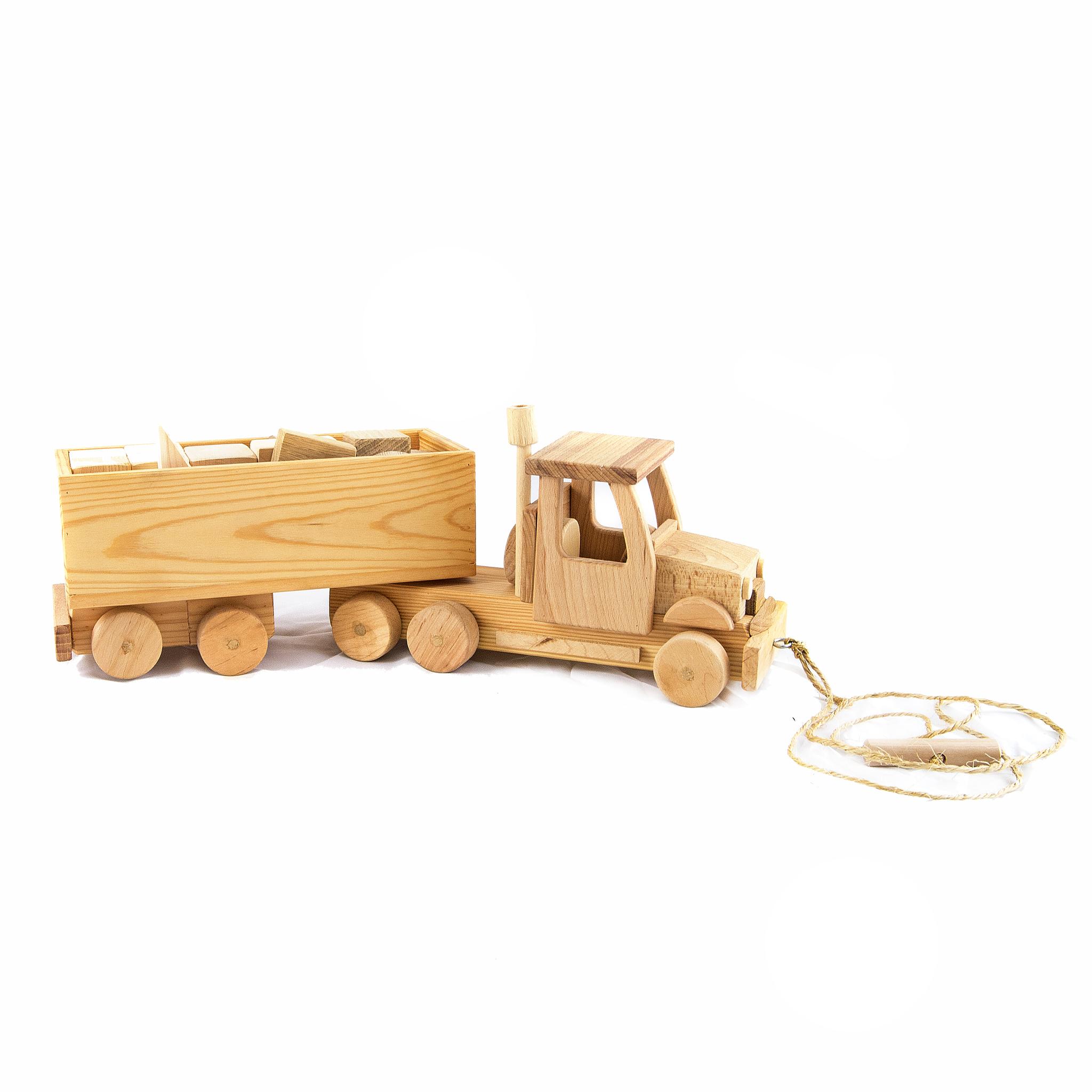 Большая деревянная машина Фура
